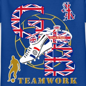 GB teamwork with britain number_12 two sided Kids' Shirts - Kids' T-Shirt