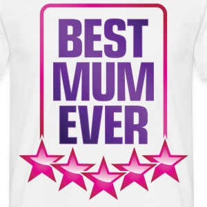 Best Mum Ever 4 (dd)++ T-shirts - T-shirt herr