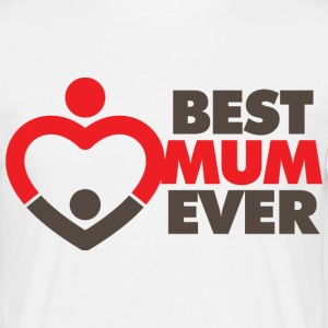 Best Mum Ever 1 (dd)++ T-shirts - T-shirt herr