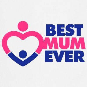 Best Mum Ever 1 (2c)++ Kookschorten - Keukenschort