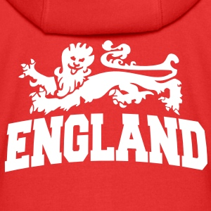 england with lion Kids' Tops - Kids' Premium Zip Hoodie