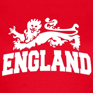 england with lion Tee shirts - T-shirt Femme