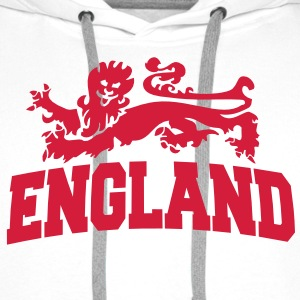 england with lion Pullover & Hoodies - Männer Premium Hoodie