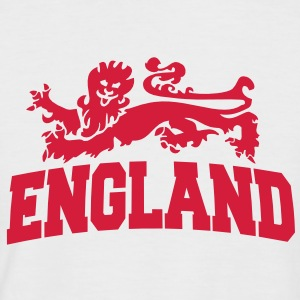 england with lion T-Shirts - Men's Baseball T-Shirt