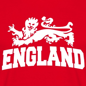 england with lion T-shirts - Herre-T-shirt