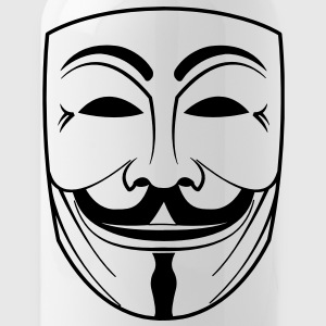 guy fawkes mask Bottles & Mugs - Water Bottle