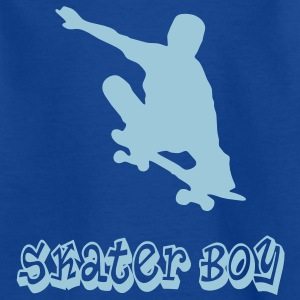 skater boy graffiti style Kinder shirts - Teenager T-shirt