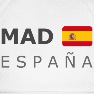 Base-Cap MAD ESPAÑA dark-lettered - Baseballkappe