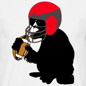 football monkey T-Shirts - Männer T-Shirt