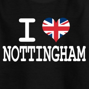 i love Nottingham Kids' Shirts - Teenage T-shirt