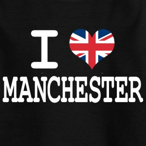 i love Manchester Kids' Shirts - Teenage T-shirt