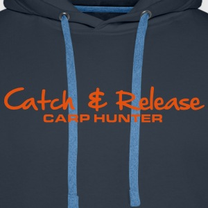 C&R Carp Hunter - Men's Premium Hoodie