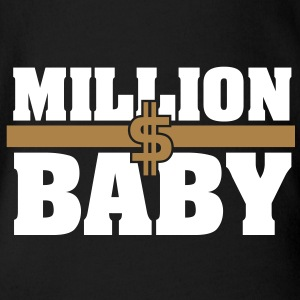million dollar baby - Organic Short-sleeved Baby Bodysuit