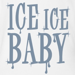 Ice Ice Baby - Organic Short-sleeved Baby Bodysuit