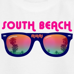 South Beach Miami - Sonnenbrille Kinder T-Shirts - Teenager T-Shirt
