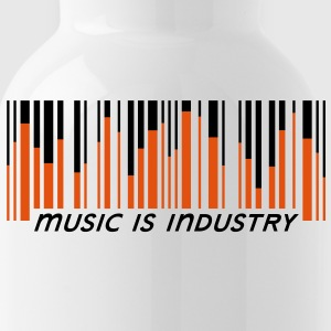 Music is industry Botella cantimplora - Cantimplora