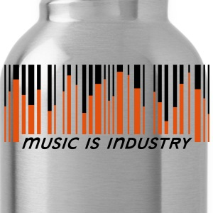 Music is industry Drinkfles - Drinkfles