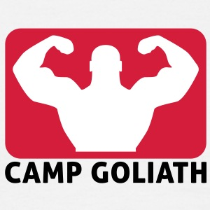 Camp Goliath | Fitness T-Shirts - Herre-T-shirt