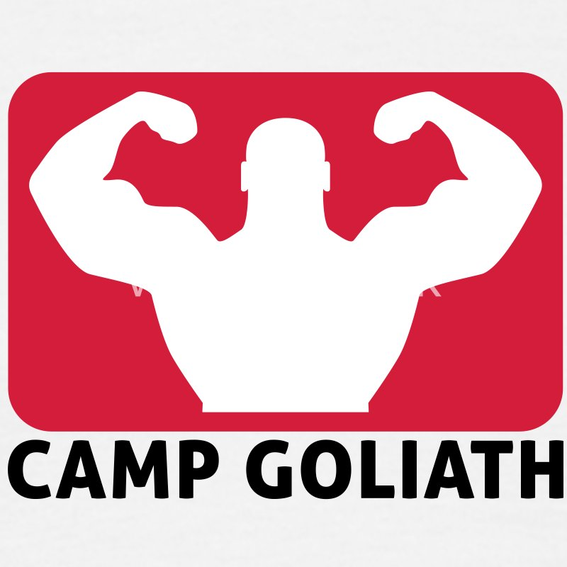 Camp Goliath | Fitness T-Shirts - Men's T-Shirt