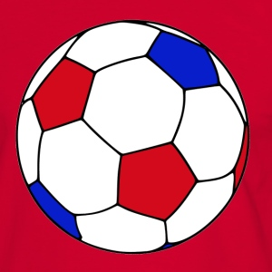Ballon de foot France - T-shirt contraste Homme