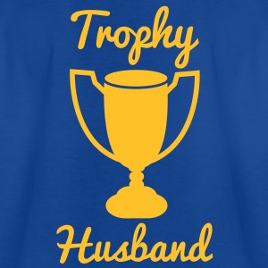 trophy husband with gold trophy Kids' Shirts - Teenage T-shirt