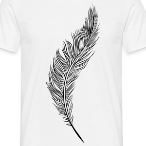 Feather T-Shirt - Männer T-Shirt