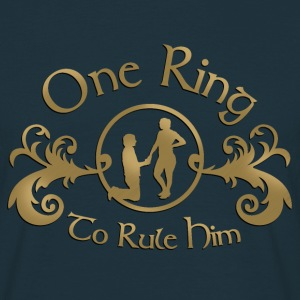 one ring T-Shirts - Men's T-Shirt