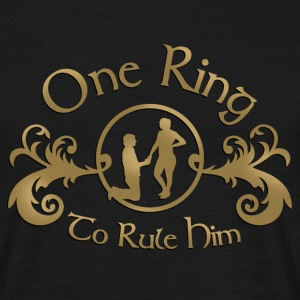 one ring T-shirts - Mannen T-shirt