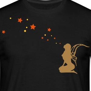 fairy, pixi, elf, star T-shirts - T-shirt herr