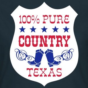 100% pure country texas  Tee shirts - T-shirt Femme