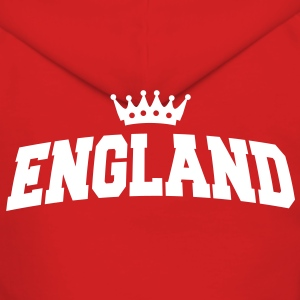 england with crown Sweatshirts - Dame Premium hættejakke