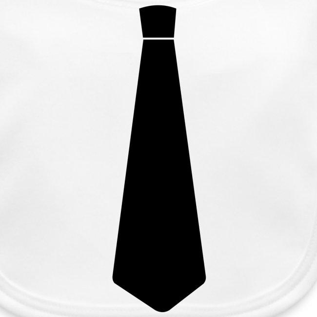 slabbetje (bio) met stropdas