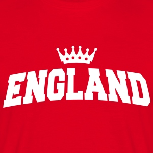england with crown T-Shirts - Männer T-Shirt