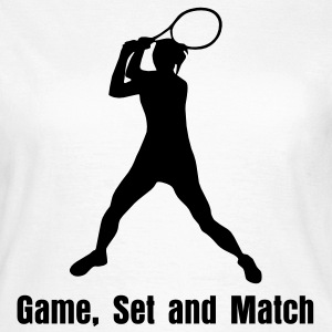 Tennis T-Shirts - T-skjorte for kvinner