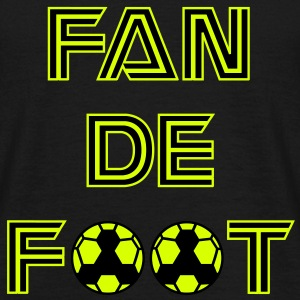 fan de foot, supporter de football - T-shirt Homme
