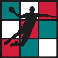 Motif ~ Handball, allez les bleus...