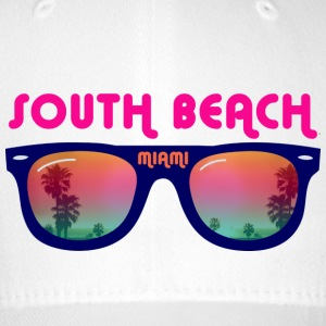 South Beach Miami Caps & Hats - Flexfit Baseball Cap