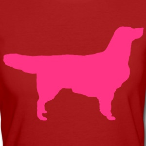 Golden Retriever T-shirt - T-shirt ecologica da donna