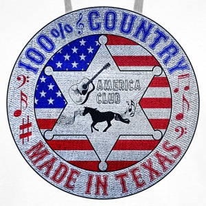 100% country made in texas Sweat-shirts - Sweat-shirt à capuche Premium pour hommes