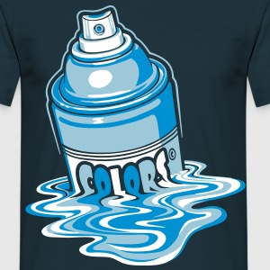 Melting paint spray - Men's T-Shirt