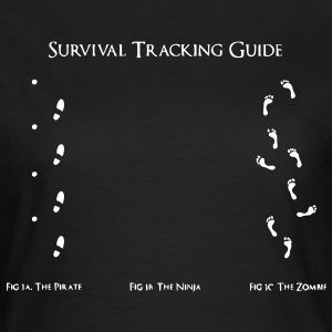 Survival Tracking Guide - Frauen T-Shirt