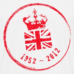 Diamond Jubilee Stamp - Large - Men's T-Shirt