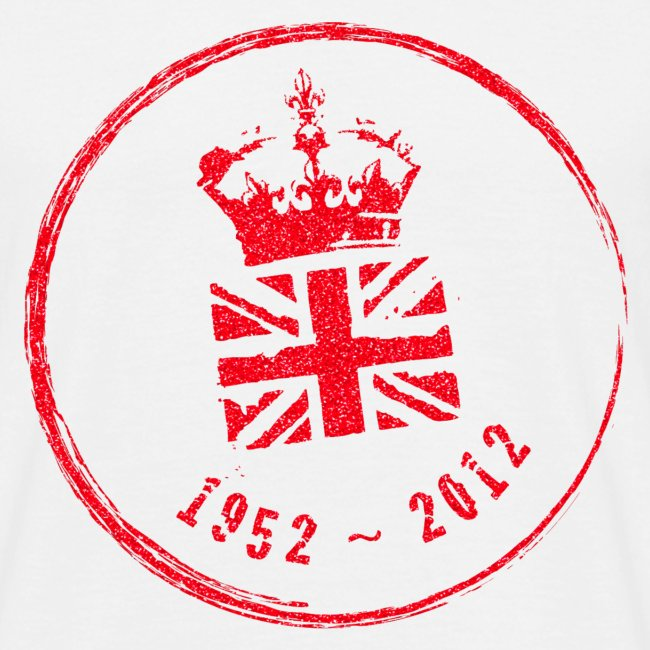 Diamond Jubilee Stamp - Large