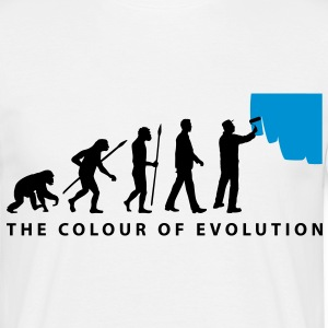 evolution_painters_062012_c_2c T-Shirts - Männer T-Shirt