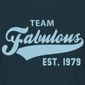TEAM Fabulous Est. 1979 Birthday Anniversary T-Shirt HN - Männer T-Shirt