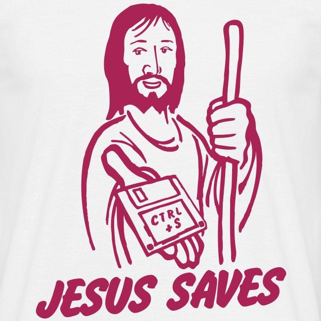 Funny T-shirt Jesus saves.. Ctrl + S