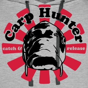 Carp Hunter catch and release - Men's Premium Hoodie