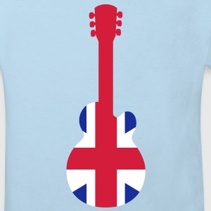 British Guitar Kids' Shirts - Kids' Organic T-shirt