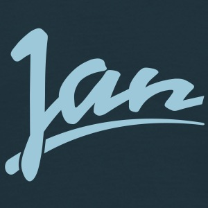 jan | Jan T-Shirts - Mannen T-shirt