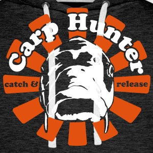 Carp Hunter catch and release - Männer Premium Hoodie